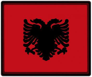Mousepad Mauspad mit Motiv - Albanien Fahne Fußball Fußballschuhe - 82008 - Gr. ca. 24 x 20 cm