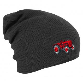 Longbeanie Slouch-Beanie Traktor 55364