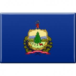 Magnet - US-Bundesstaat Vermont - Gr. ca. 8 x 5, 5 cm - 37145 - Küchenmagnet