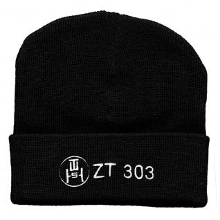 Hip-Hop Mütze DDR ZT 303 Strickmütze 50916 schwarz