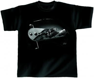 Designer T-Shirt - Ground Control - von ROCK YOU MUSIC SHIRTS - 10372 - Gr. M