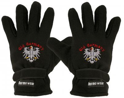 Handschuhe - Fleece - Old Germany - Adler - 31510