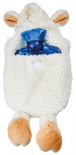 Wärmflasche Schaf Wollschäfchen mit Einstickung Kuschelwärmer 39309 weiß - Vorschau 2