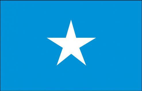 Stockländerfahne - Somalia - Gr. ca. 40x30cm - 77153 - Flagge, Hissfahne, Länderfahne