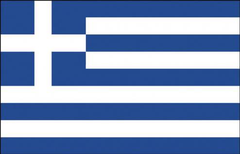 Autoscheiben-Fahne - Griechenland - Gr. ca. 40x30cm - 78056 - Dekoflagge Autoländerfahne