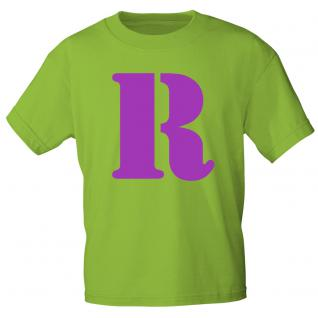 """Marken T-Shirt mit brillantem Aufdruck """" R"""" 85121-R S"""