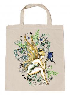 (U10972)Umweltfreundliche Baumwoll - Tasche , ca. 28 x 43 cm mit Aufdruck in 7 Farben natur