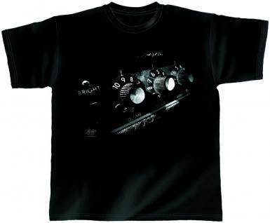 Designer T-Shirt - Astro Amp - von ROCK YOU MUSIC SHIRTS - 10383 - Gr. S