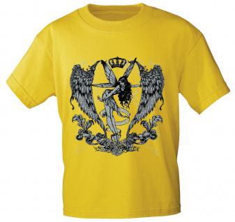 T-Shirt mit Print - Fee Krone Crown - 10898 - Gr. S-2XL