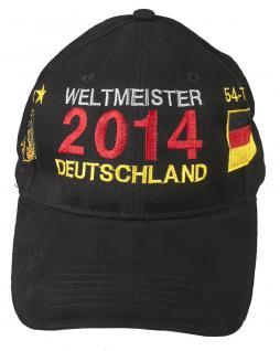 Baseballcap Winner Cap Base-cap Mit Einstickung Deutschland Weltmeister 2014 68171 - Vorschau