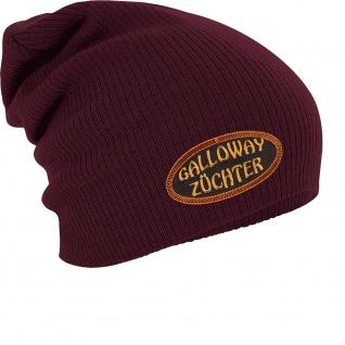 Longbeanie Slouch-Beanie Wintermütze Galloway Züchter 55305