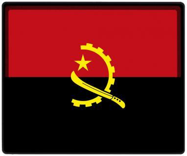 Mousepad Mauspad mit Motiv - Afrika Fahne Fußball Fußballschuhe - 82006 - Gr. ca. 24 x 20 cm