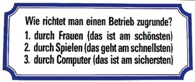 PVC Aufkleber Fun Auto-Applikation Spass-Motive und Sprüche - Wie richtet man... - 303361 - Gr. ca. 17 x 8 cm