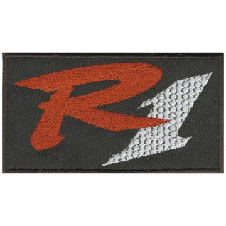 AUFNÄHER - R1 Motorsport - 03019 - Gr. ca. 10, 5 x 6 cm - Patches Stick Applikation