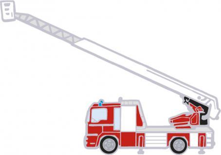 Anstecknadel Pin - Feuerwehr Feuerwehrwagen - Gr. ca. 4, 3 x 3 cm - 02870