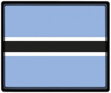 Mousepad Mauspad mit Motiv - Botswana Fahne - 82026 - Gr. ca. 24 x 20 cm