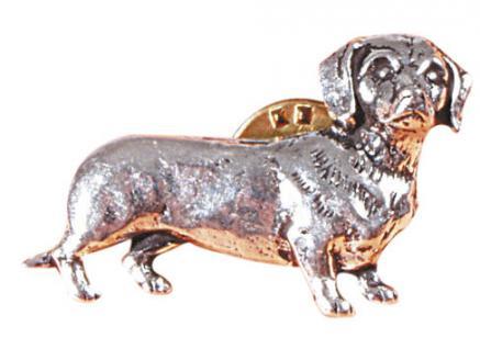 Anstecknadel - Metall - Pin - Dackel - Hund - 02631 - Vorschau