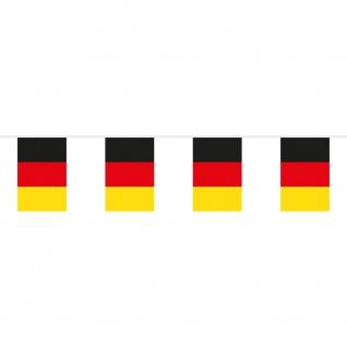 Wimpelkette Fahnenkette Deutschland Germany - Gr. ca. 10 cm 78194