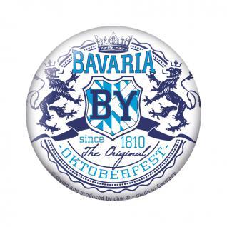 Magnetbutton - 16258 - Bavaria Oktoberfest München - Gr. ca. 5, 7 cm 16258
