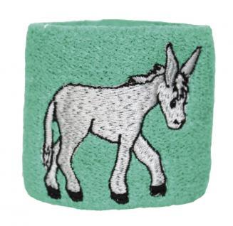 Pulswärmer - Esel - 56438 - Frotte-Pulswärmer Schweißband
