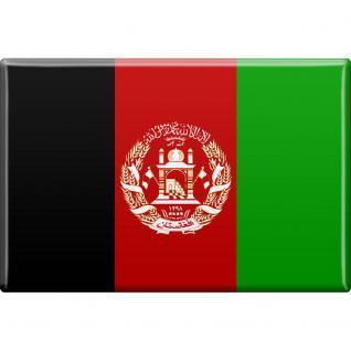 Magnet Länderflagge - Afghanistan - Gr.ca. 8x5, 5 cm - 38001 - Küchenmagnet