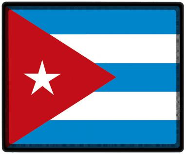 Mousepad Mauspad mit Motiv - Kuba Fahne Fußball Fußballschuhe - 82088 - Gr. ca. 24 x 20 cm