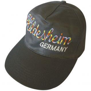 Baseballcap mit Einstickung - Hildesheim Germany - 68055 schwarz