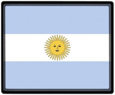Mousepad Mauspad mit Motiv - Argentinien Fahne - 82014 - Gr. ca. 24 x 20 cm