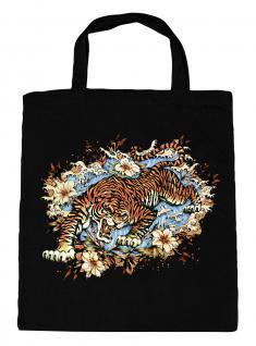 (U10973)Umweltfreundliche Baumwoll - Tasche , ca. 28 x 43 cm mit Aufdruck in 7 Farben schwarz