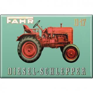 MAGNET - Fahr - Gr. ca. 8 x 5, 5 cm - 36525 - Küchenmagnet