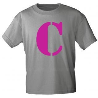 """Marken T-Shirt mit brillantem Aufdruck """" C"""" 85121-C XXL"""