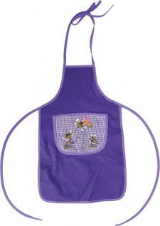 """(12407) Baby- und Kinder Schürze mit Tasche und Stickerei"""" Bienchen"""