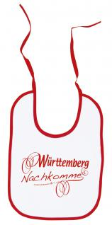 Baby - Lätzchen - Württemberg Nachkomme - 08443 - weiss