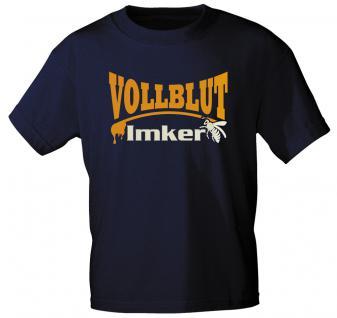 T-Shirt mit Print - Vollblut-Imker - 10926 - 3XL