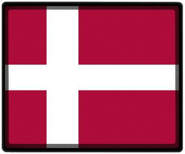 Mousepad Mauspad mit Motiv - Dänemark Fahne Fußball Fußballschuhe - 82039 - Gr. ca. 24 x 20 cm