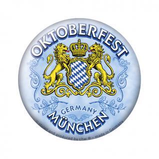 Magnetbutton - Oktoberfest München - Gr. ca. 5, 7 cm - 16257 - Küchenmagnet
