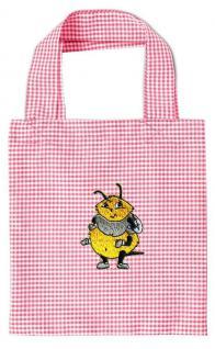 Kinder-Baumwolltasche mit Einstickung - Honigbiene - 12348
