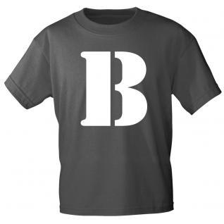 """Marken T-Shirt mit brillantem Aufdruck """" B"""" 85121-B"""