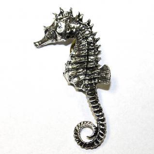Anstecknadel - Metall - Pin - Seepferdchen - Größe ca 25 x 55 mm - 03910