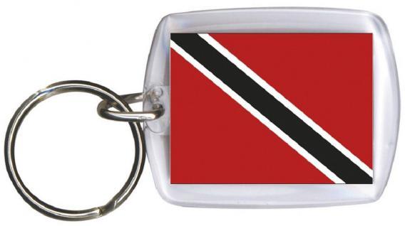 Schlüsselanhänger - TRINIDAD UND TOBAGO - Gr. ca. 4x5cm - 81170 - Keyholder WM Länder