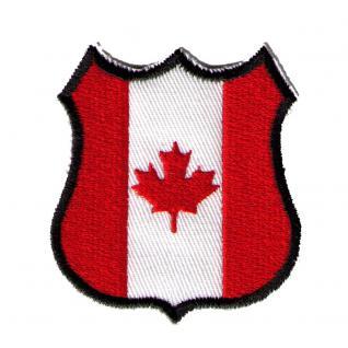 AUFNÄHER - Wappen - KANADA - 02934 - Gr. ca. 5 x 6 cm - Patches Stick Applikation