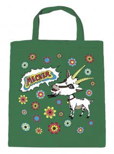 Baumwolltasche mit Druck - Ziege - 08855 - Bag Cotton