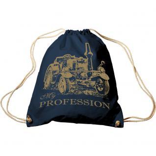 Turnbeutel mit Aufdruck - Traktor - My Profession - 65052 - Sporttasche Rucksack Trend-Bag