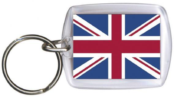 (81057) Schlüsselanhänger Anhänger - GROSSBRITANNIEN - Gr. ca. 4x5cm - 81057 - WM-Länder