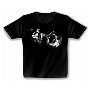 Designer T-Shirt - space trumpet - von ROCK YOU MUSIC SHIRTS - 10161 - Gr. S