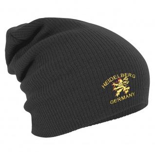 Longbeanie Slouch-Beanie Heidelberg Germany Adler 55440