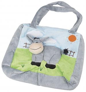 Kinder-Plüschtasche - ESEL - 40187 - Kindergartentasche 3D-Optik Motiv