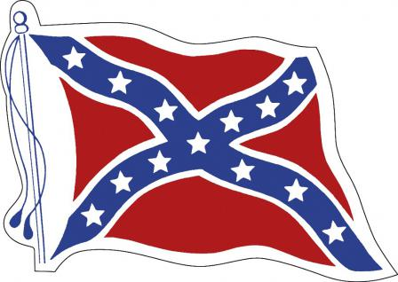 Aufkleber Autoaufkleber Länderfahne wehend - America - Amerika - 301673 - Gr. ca. 95mm x 70mm