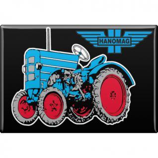 MAGNET - Traktor - Gr. ca. 8 x 5, 5 cm - 36508 - Küchenmagnet