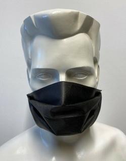 Behelfsmaske Gesichtsmaske Maske mit wasserabweisenden Vliess - 15443 - Vorschau 3